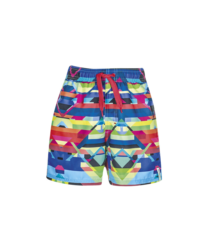 wavebreaker swimming trunks with motif for boys
