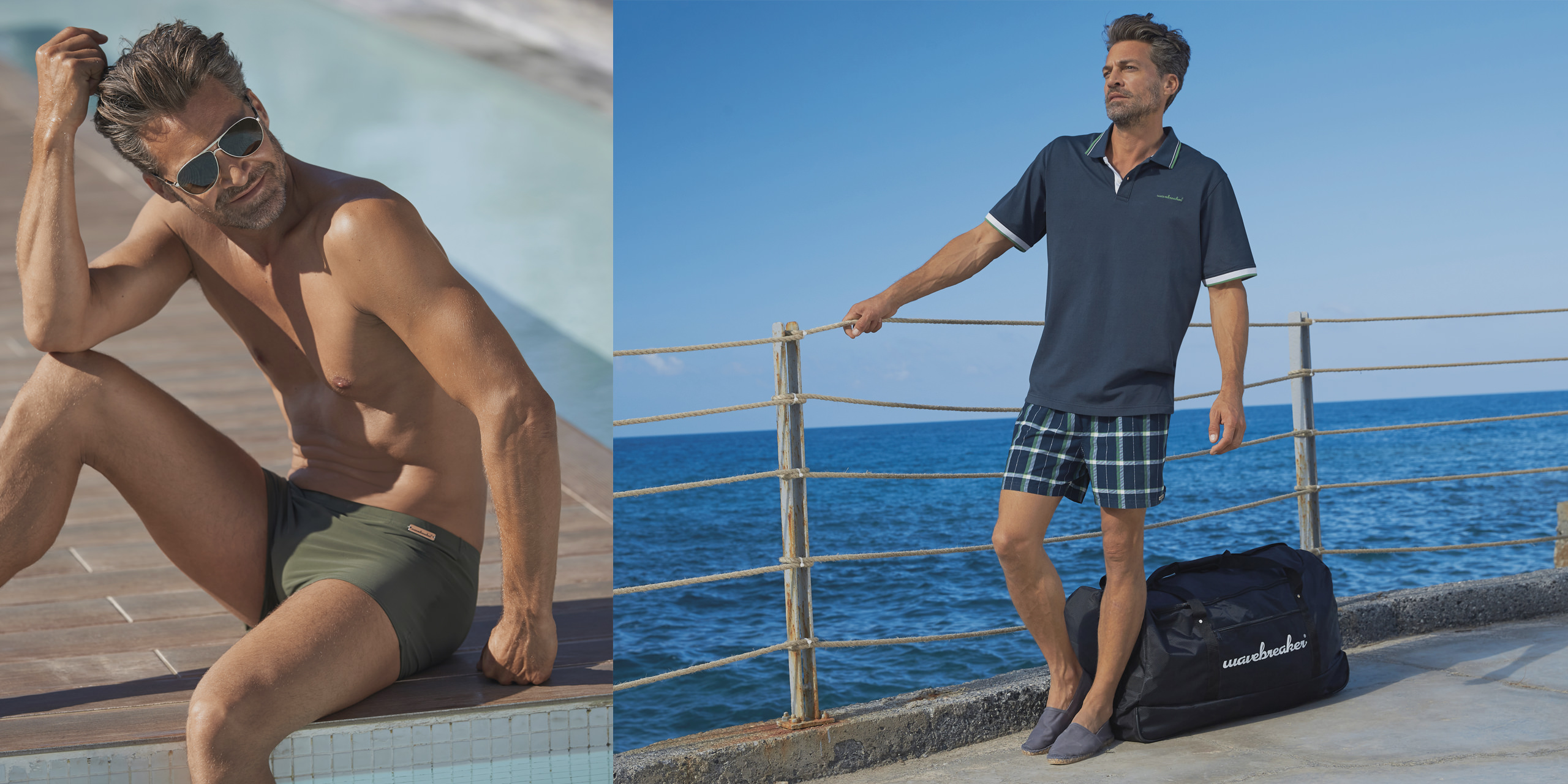 Swim shorts from the wavebreaker Classic collection